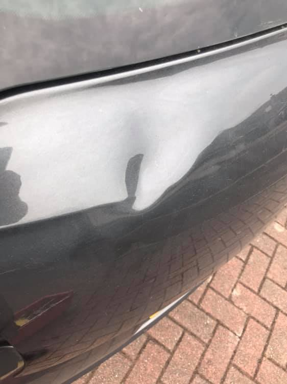 Before Dent Repair Ballymoney